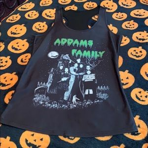 Addams Family Tank Top Size Small
